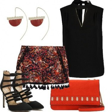 Outfit Shorts e tacchi
