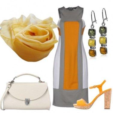 Outfit L\'eleganza del giallo