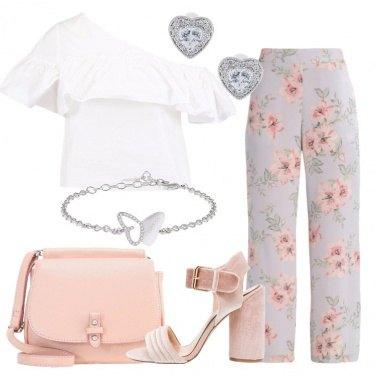 Outfit Il pantalone a fiori