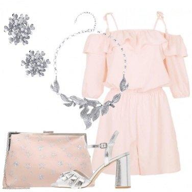Outfit La playsuit rosa