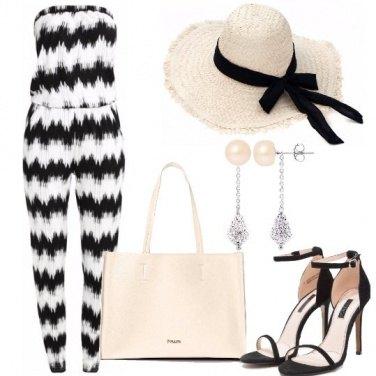 Outfit Jumpsuit e cappello