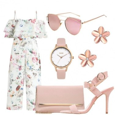 Outfit Rose rosa