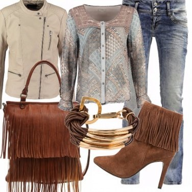 Outfit Gipsy in city
