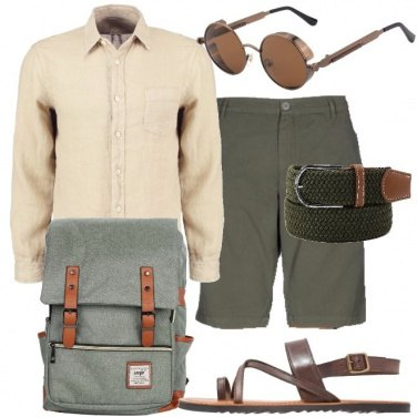 Outfit Sandali in pelle