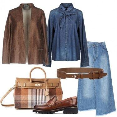 prezzo ragionevole carino la vendita di scarpe Come abbinare la camicia jeans senza tasche: 30 Outfit Donna ...