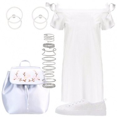 Outfit L\'abito bianco