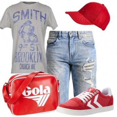 Outfit Il bermuda in jeans