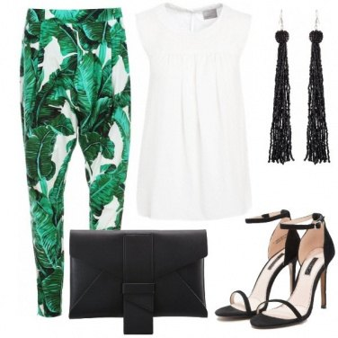 Outfit Pantaloni botanic