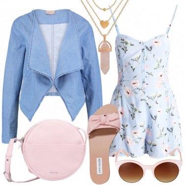 Outfit La tuta romantica