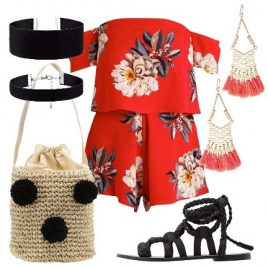 Outfit Aperitivo time in spiaggia