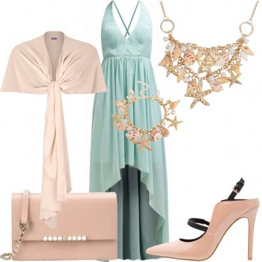 Outfit Cerimonia marina