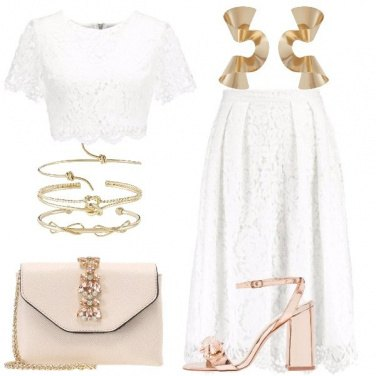 Outfit Amo il pizzo