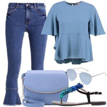 Outfit Il blu mi dona