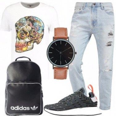 Outfit Un ragazzo alla moda