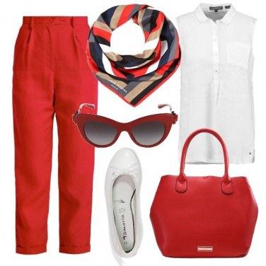 Outfit Il rosso e le sue sfumature