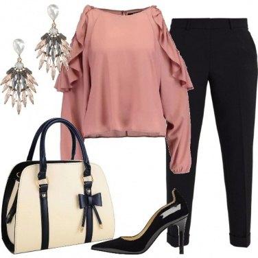 Outfit La borsa con il fiocco