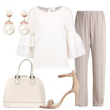 Outfit Nuances in beige