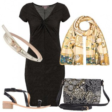 Outfit Stampa d\'arte