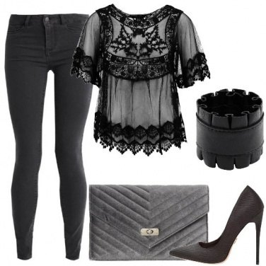 Outfit Denim nero