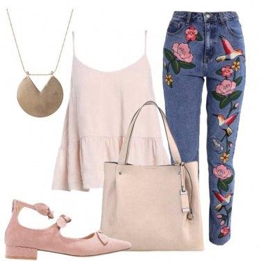 Outfit Ancora fiori