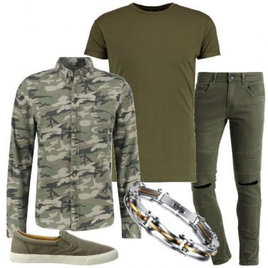 Outfit Sempre verde