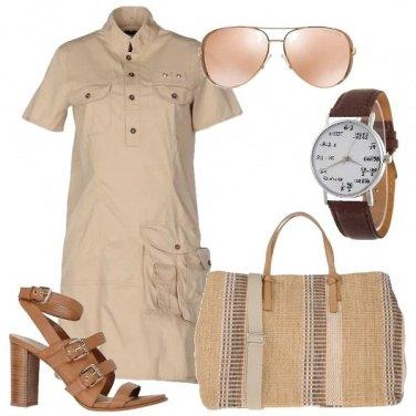 Outfit Tasche e bottoni