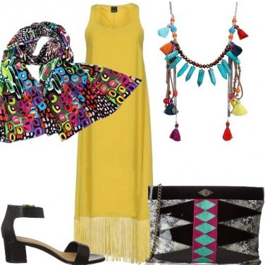 Outfit Tendenze Boho chic