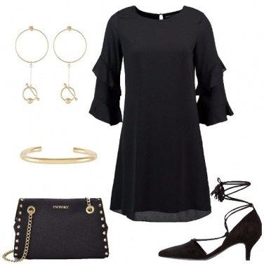 Outfit La borsa con le borchie