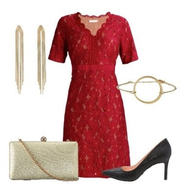 Outfit Romantica in pizzo