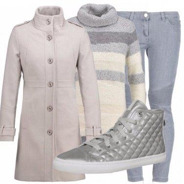 Outfit Caldo grigio!