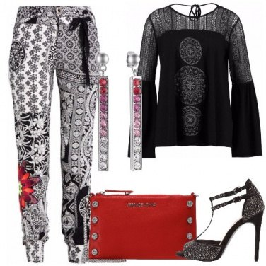 Outfit Glamour in discoteca