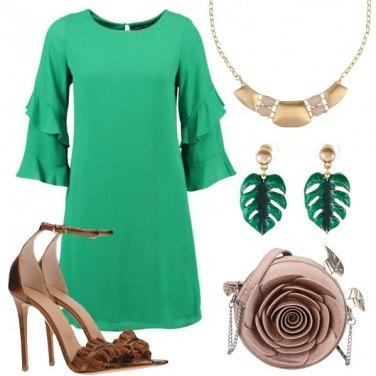 Outfit Via libera al verde