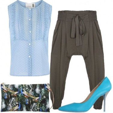 Outfit Il pantalone harem