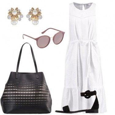 Outfit Il vestito di cotone