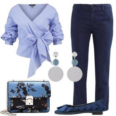 Outfit Lino e cotone