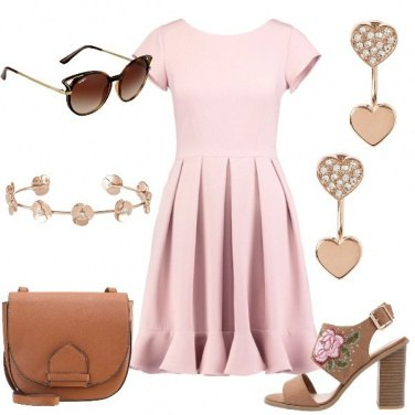 Outfit Romantica di giorno