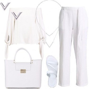 Outfit Minimal total white