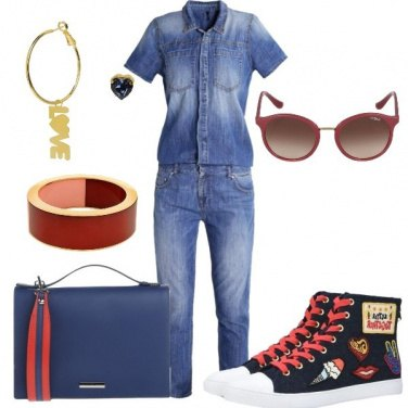 Outfit Jumpsuit in denim