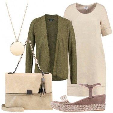 Outfit Una signora in lino