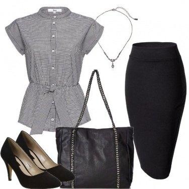 Outfit Look da segretaria
