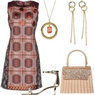 Outfit La borsa di paglia da sera