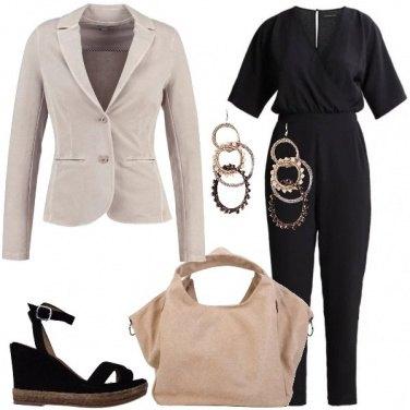 Outfit Il blazer beige