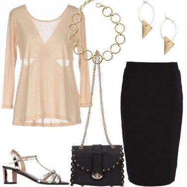 Outfit La blusa beige