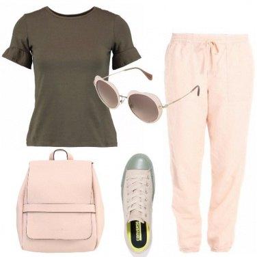Outfit Abbinamenti con il rosa