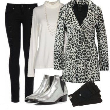 Outfit Silver mood