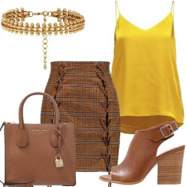 Outfit Un top giallo