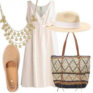 Outfit Vestitino di lino