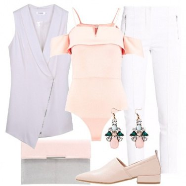 Outfit Il gilet obliquo