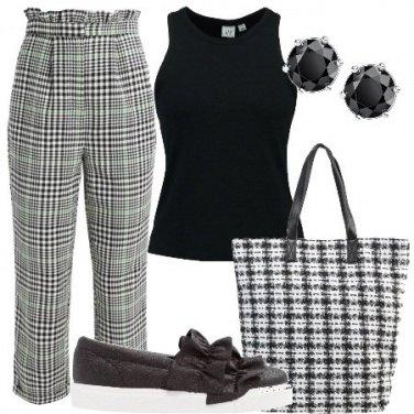 Outfit Comoda con le slip on