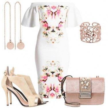 Outfit Il tubino floreale